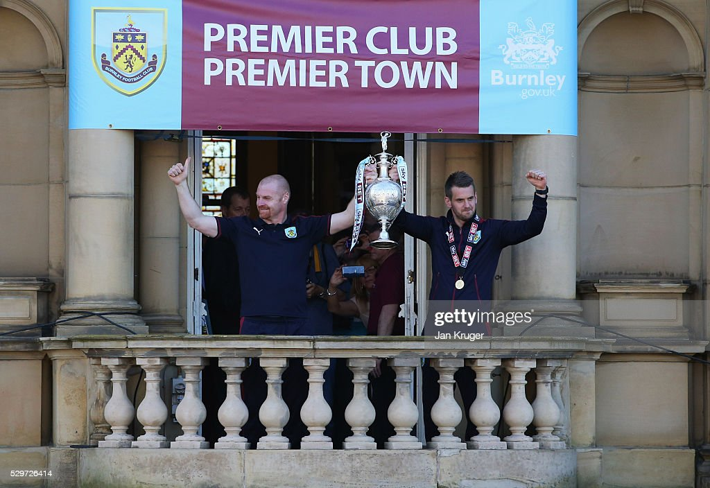 Burnley Sky Bet Champions Winners Bus Parade