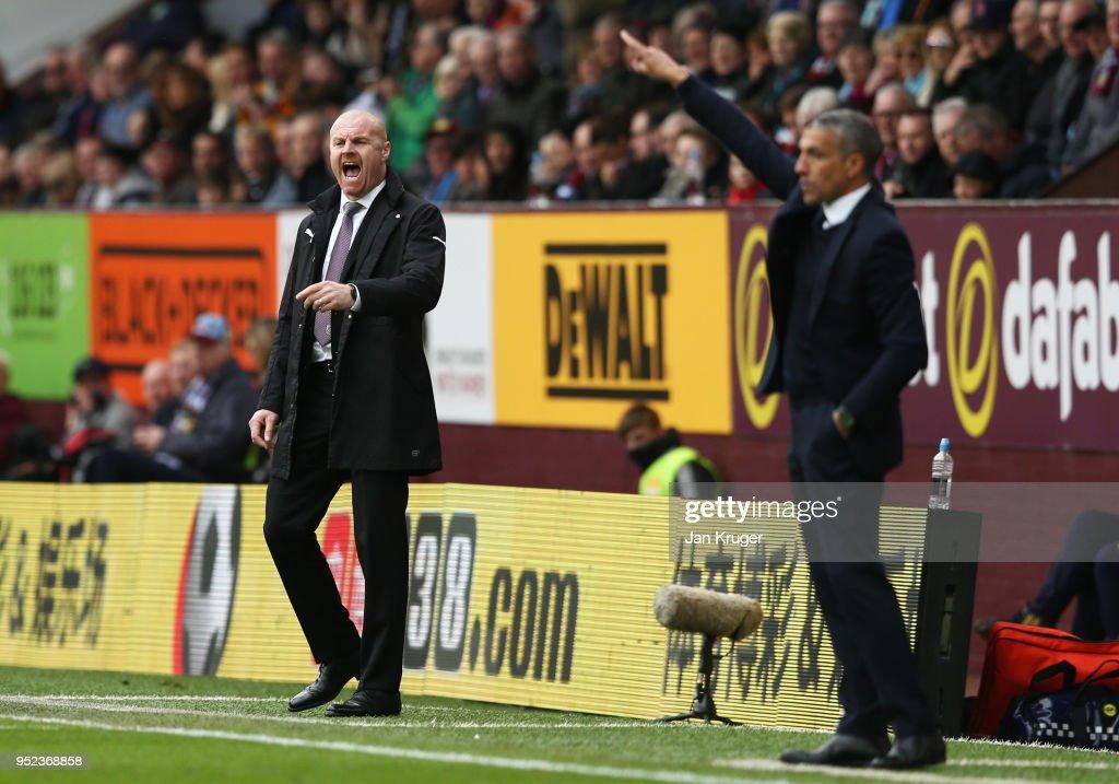 Burnley v Brighton and Hove Albion - Premier League : News Photo