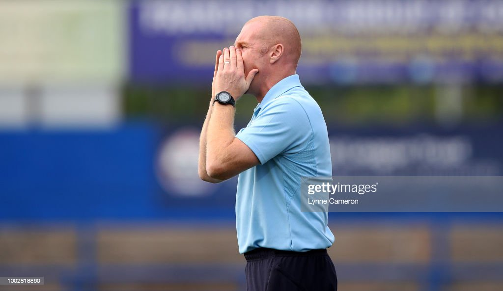 Macclesfield Town v Burnley - Pre-Season Friendly