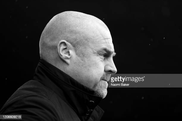 Sean Dyche Manager of Burnley looks on during the Premier League match between Southampton FC and Burnley FC at St Mary's Stadium on February 15 2020...