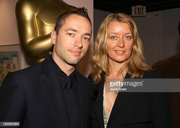 """Sean Ellis and Lene Bausager Best Live Action Short Film nominees for Cashback"""""""