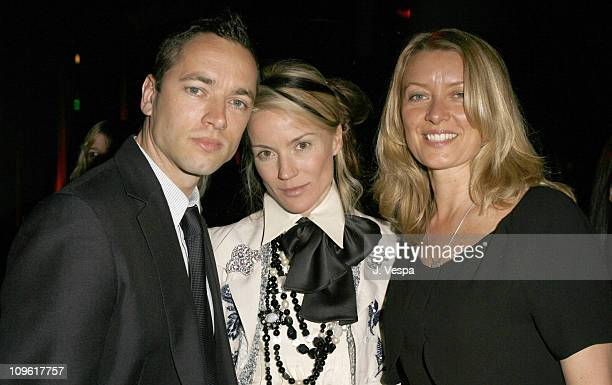 Sean Ellis Daphne Guinness and Lene Bausager during 2006 Weinstein Company PreOscar Party Red Carpet and Inside at Pacific Design Center in Los...