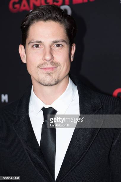 Sean Faris attends the Premiere Of Cinedigm's 'Gangster Land' at the Egyptian Theatre on November 29 2017 in Hollywood California