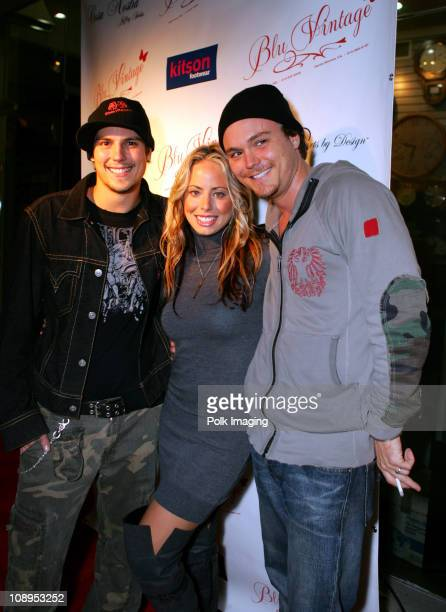 Sean Faris Lindsey Clarke general manager of Blu Vintage and Clayne Crawford