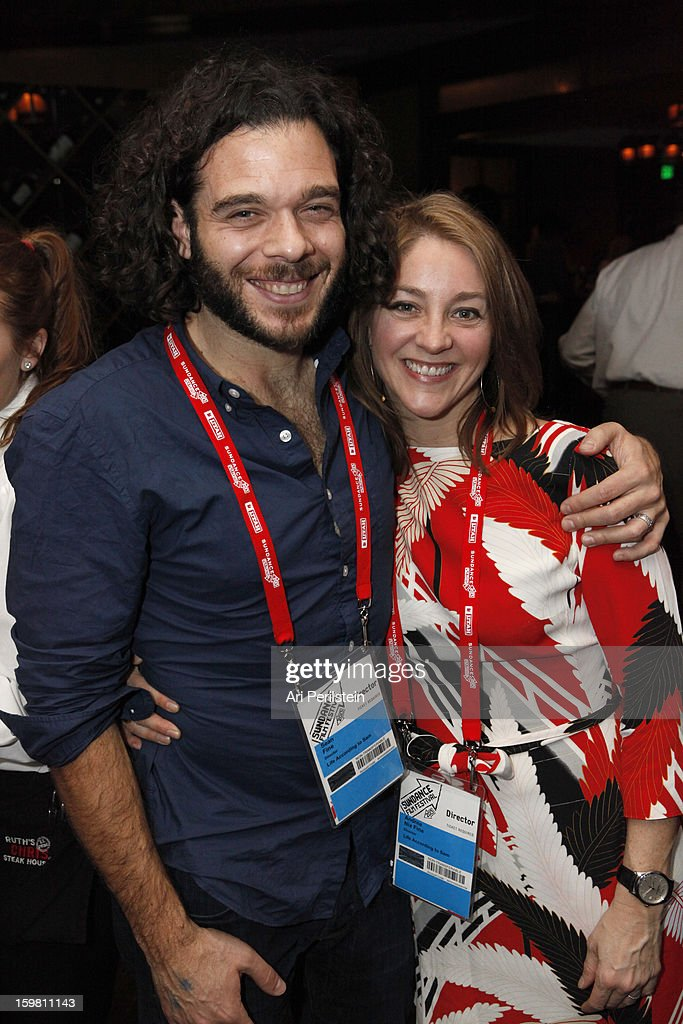 Sean Fine and Andrea Nix Fine attends the HBO Documentary Films Sundance Party on January 20, 2013 in Park City, Utah.