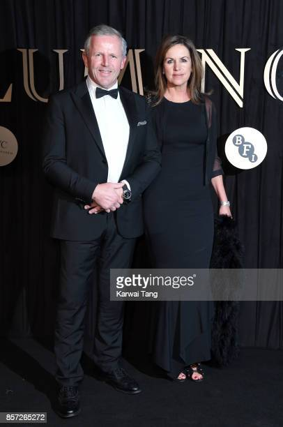 Sean Fitzpatrick and Bronwyn Fitzpatrick attend the BFI Luminous Fundraising Gala at The Guildhall on October 3, 2017 in London, England.