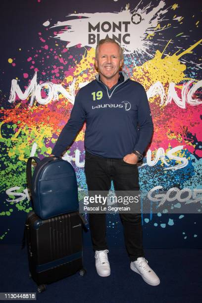 Sean Fitzpatrick attends Montblanc X Laureus Sport For Good photocall at Hotel Hermitage during 2019 Laureus World Sports Awards on February 17 2019...