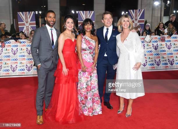 Sean Fletcher Laura Tobin Ranvir Singh Ben Shepard and Kate Garraway attend the Pride Of Britain Awards 2019 at The Grosvenor House Hotel on October...