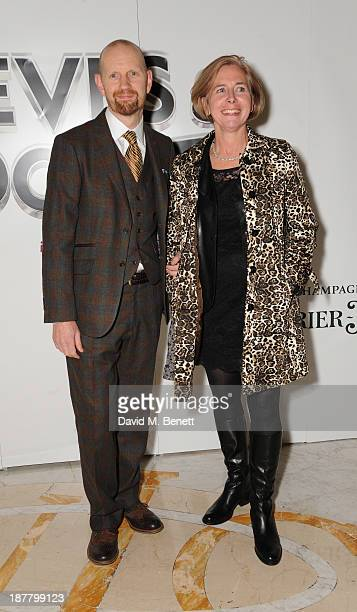 Sean Foley attends an after party celebrating the press night performance of 'Perfect Nonsense' at the The Royal Horseguards on November 12 2013 in...
