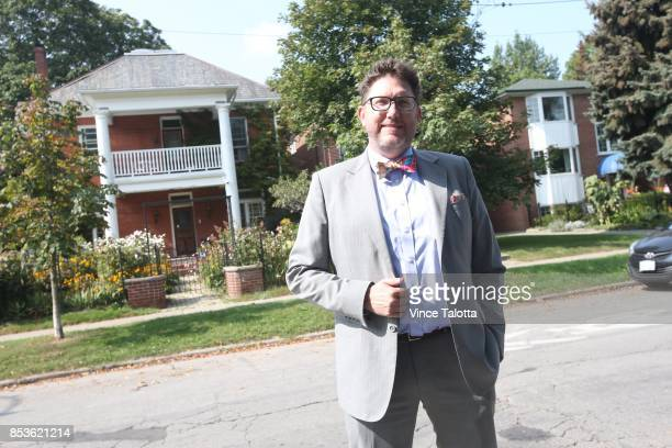 TORONTO ON SEPTEMBER 20 Sean Galbraith he's an urban planner in private practice who advocates for the missing middle laneway homes and secondary...