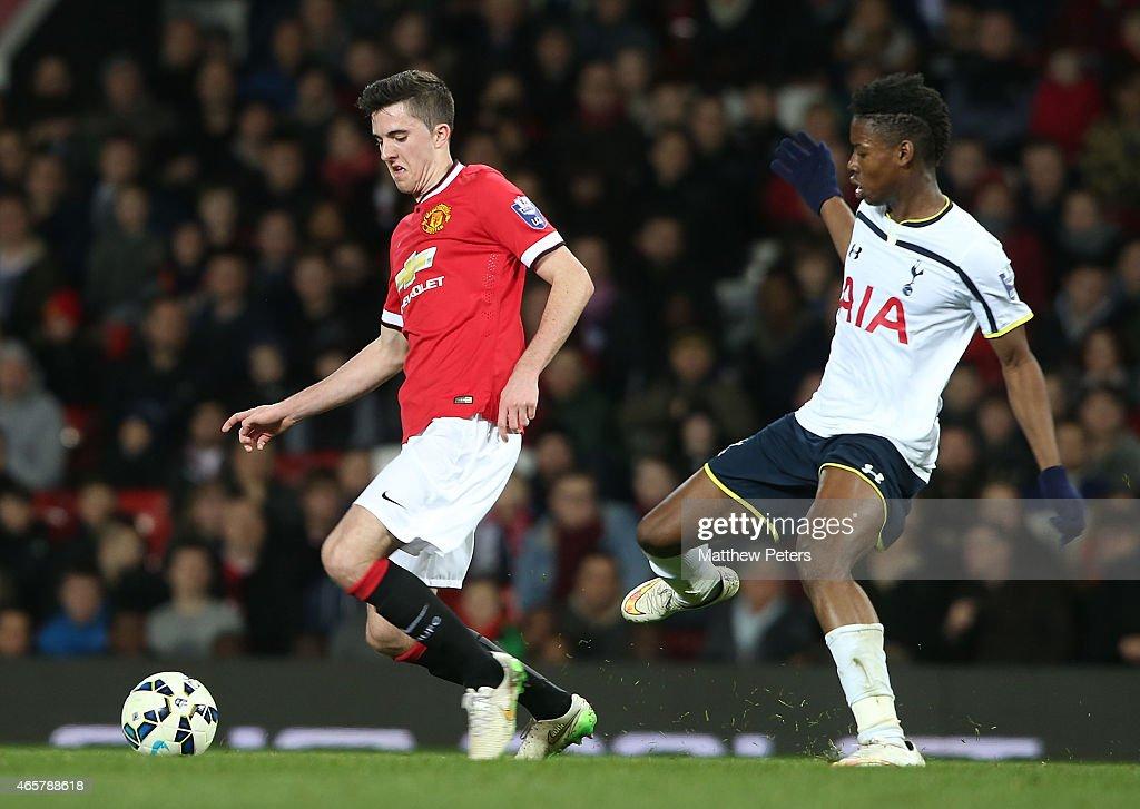 Manchester United v Tottenham Hotspur: U21 Premier League : News Photo