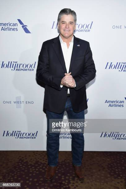 Sean Hannity attends The Hollywood Reporter 35 Most Powerful People In Media 2017 at The Pool on April 13 2017 in New York City
