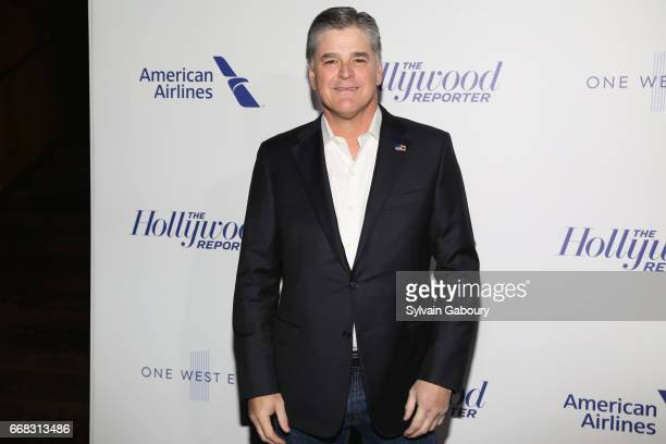 Sean Hannity attends The Hollywood Reporter's 35 Most Powerful People In Media 2017 on April 13 2017 in New York City