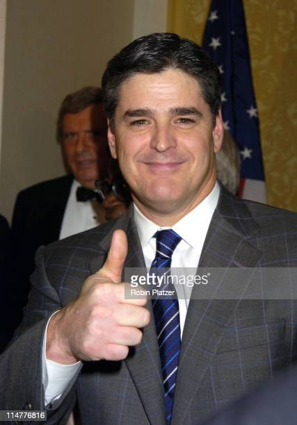 Sean Hannity during The Congress of Racial Equality Living The Dream Dinner January 17 2005 at The New York Hilton and Towers in New York City New...