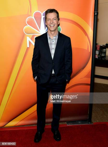 Sean Hayes at the NBCUniversal Summer TCA Press Tour at The Beverly Hilton Hotel on August 3 2017 in Beverly Hills California