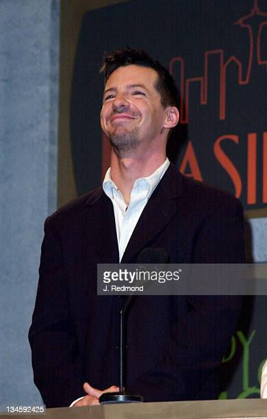 Sean Hayes during The 53rd Annual Emmy Awards Nominations at Academy of Television Arts Sciences in North Hollywood California United States