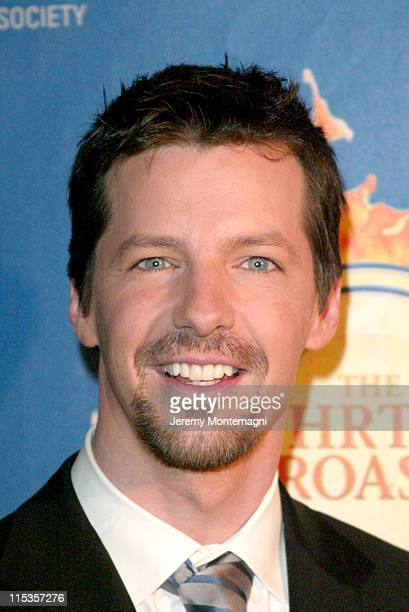 Sean Hayes during The Hollywood Radio And Television Society's 1st Annual Roast In Honor Of Jeff Zucker at Century Plaza Hotel in Century City CA...
