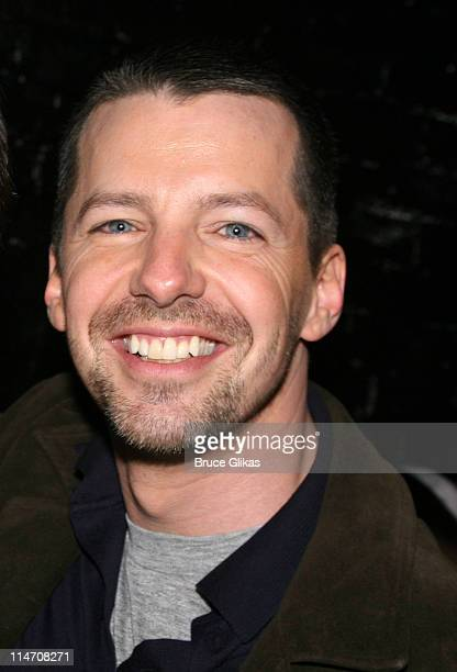 Sean Hayes during Will and Grace CoStars Visit Eric McCormack and Cast at Some Girl the Night of their Big May 18th Finale at The Lucille Lortel...