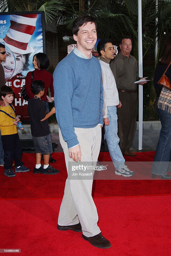 1ddfe228 Sean Hayes during World Premiere of 'The Cat In The Hat' at ...