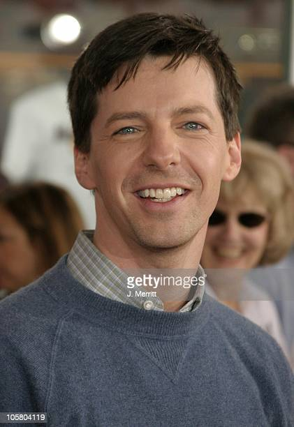Sean Hayes during World Premiere of The Cat In The Hat at Universal Studios Cinemas in Hollywood California United States