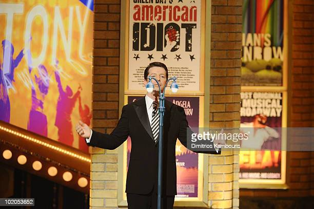 Sean Hayes performs onstage during the 64th Annual Tony Awards at Radio City Music Hall on June 13 2010 in New York City