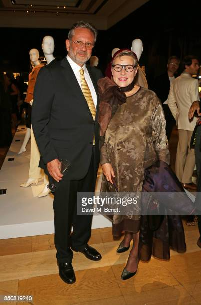 Sean Hepburn Ferrer son of Audrey Hepburn and Karin Hofer attend the opening reception for 'Audrey Hepburn The Personal Collection' at Christie's on...