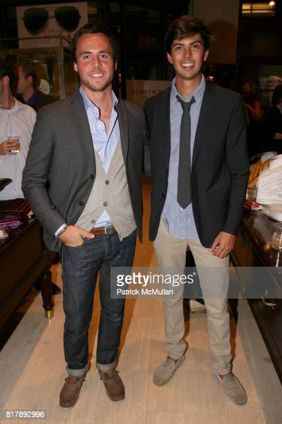 Sean Hotchkiss and Jesse McConnell attend The launch of 'True Prep' at Brooks Brothers on September 14 2010 in New York