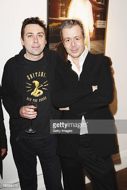 Sean Hughes and Jason Fraser attend the Launch of the 2008 Pdsa Calendar 'Pawtraits of Celebrities and Their Pets Revealed' a celebrities with their...