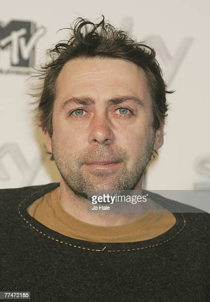 Sean Hughes arrives at the MTV Sky SendOff Party to celebrate the MTV Europe AwardsOctober 23 2007 in London England