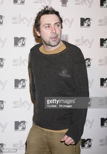 Sean Hughes arriving for the Sky sendoff Party for MTV's Europe Music Awards at Bloomsbury House in central London