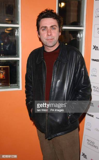 Sean Hughes at the Hip Hop Immortals exhibition which contains photographs of the 100 most influential Hip Hop artists at the Proud Gallery in Camden...