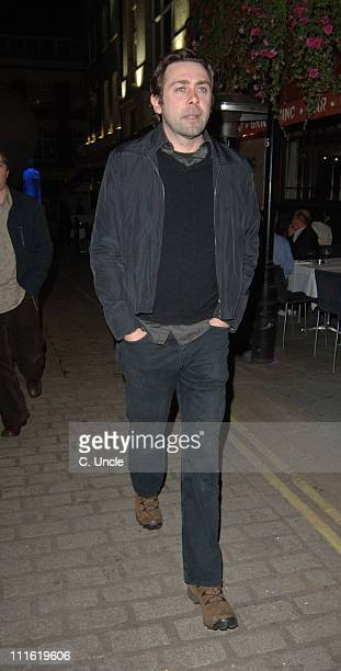 Sean Hughes during Absolut Icebar Launch Party at Absolut Icebar 2933 Heddon Street in London Great Britain