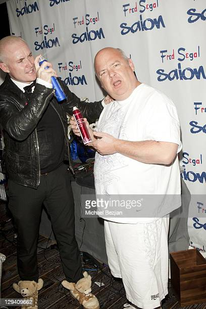 Sean James and Kyle Gass at The Studio At HAVEN360 - Day 2 on February 26, 2011 in West Hollywood, California.