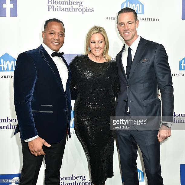 Sean James Lisa Marie Ringus and Rob Smith attend the HetrickMartin Institute's 30th Annual Emery Awards Help Me Imagine at Cipriani Wall Street on...
