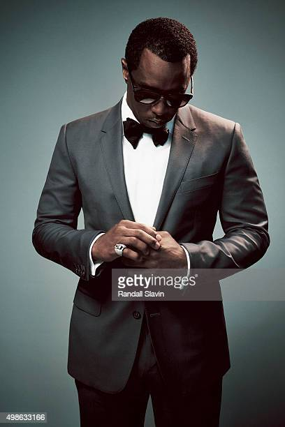 Sean John Combs also known as P Diddy poses for a portrait at the 2015 American Music Awards on November 22 2015 in Los Angeles California