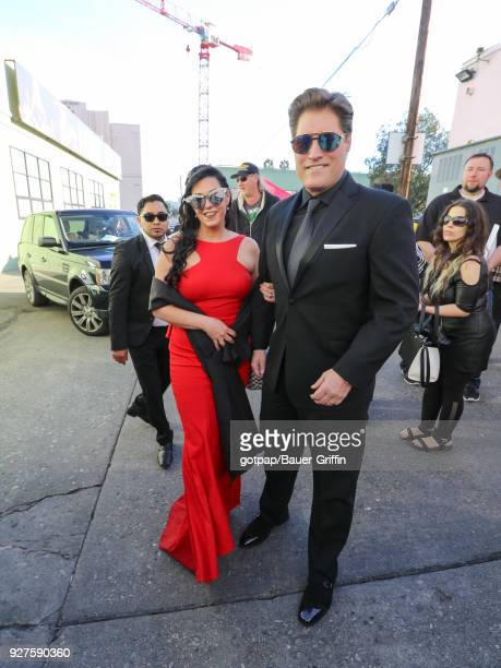 Sean Kanan and Michele Vega are seen on March 04 2018 in Los Angeles California