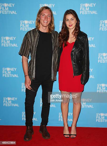 Sean Keenan and Charlotte Best pose at the Australian premiere of the The Last Impresario during the Sydney Film Festival on June 11 2014 in Sydney...