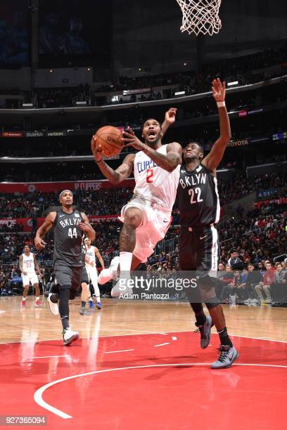Sean Kilpatrick of the LA Clippers handles the ball against the Brooklyn Nets on March 4 2018 at STAPLES Center in Los Angeles California NOTE TO...