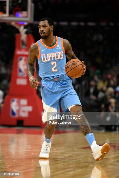 Sean Kilpatrick of the Los Angeles Clippers plays against the New Orleans Pelicans at STAPLES Center on March 6 2018 in Los Angeles California NOTE...