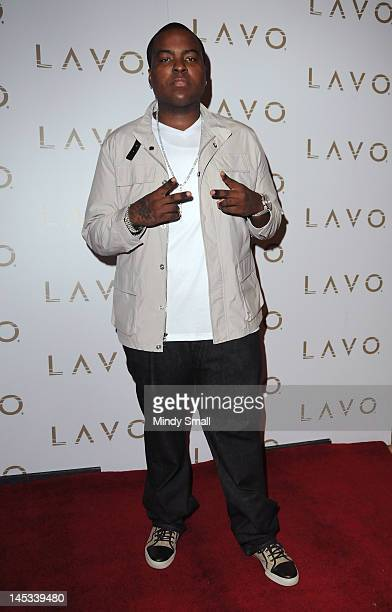 Sean Kingston walks the red carpet at LAVO on May 26 2012 in Las Vegas Nevada