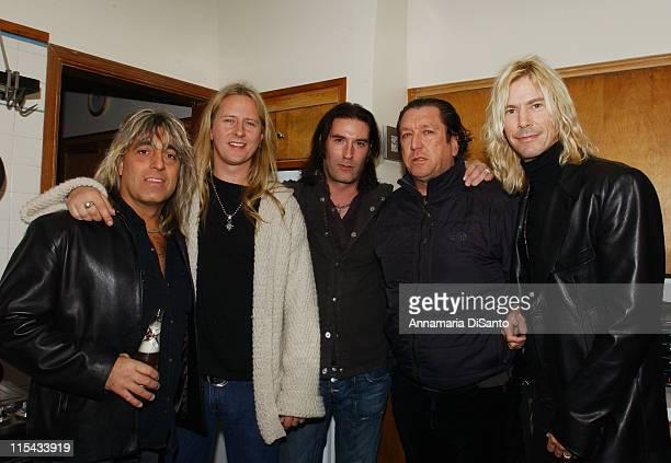 Sean Kinney Jerry Cantrell Mikkey Dee Steve Jones and Duff McKagan