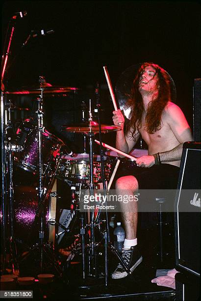 Sean Kinney of Alice In Chains performing at Roseland in New York City on November 24 1992