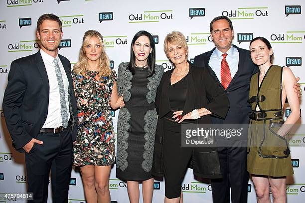 Sean Kleier Abby Elliott Jill Kargman Joanna Cassidy Andy Buckley and KK Glick attend Bravo Presents a Special Screening of Odd Mom Out at Florence...