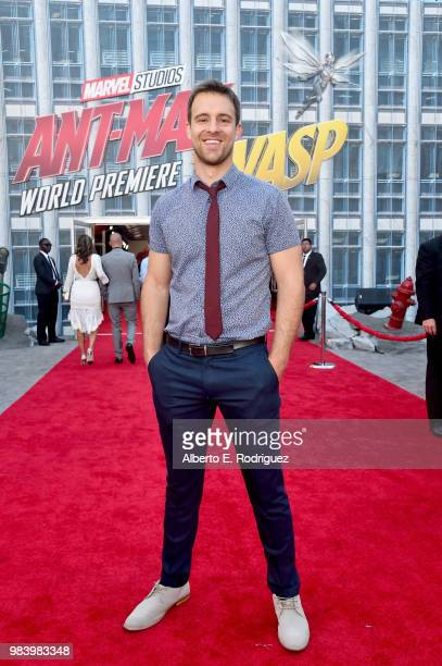 Sean Kleier attends the Los Angeles Global Premiere for Marvel Studios' 'AntMan And The Wasp' at the El Capitan Theatre on June 25 2018 in Hollywood...