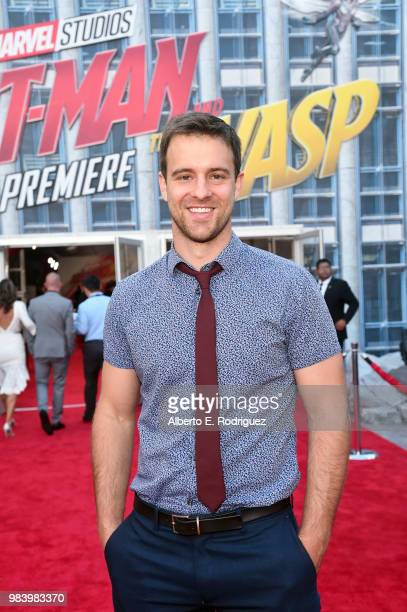 Sean Kleier attends the Los Angeles Global Premiere for Marvel Studios' AntMan And The Wasp at the El Capitan Theatre on June 25 2018 in Hollywood...