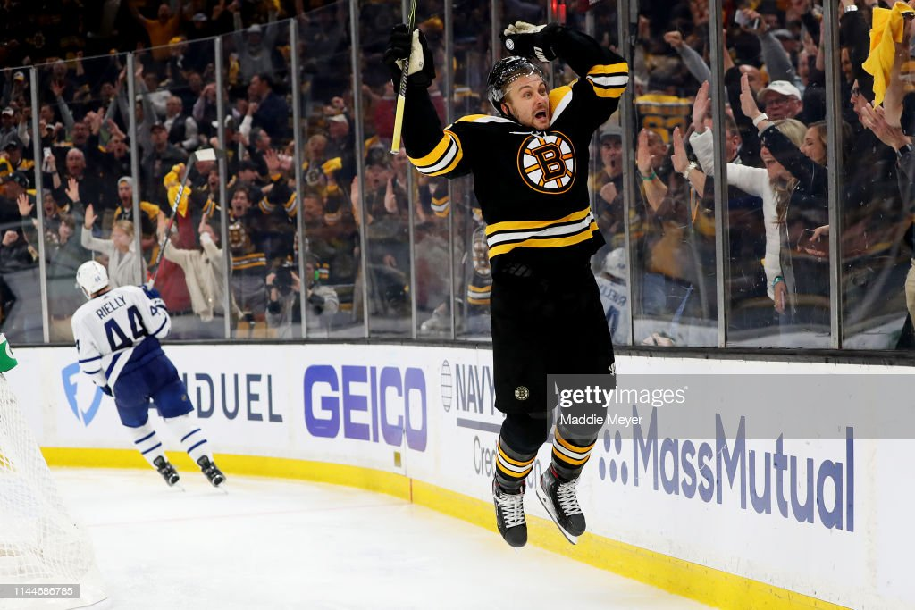 Toronto Maple Leafs v Boston Bruins - Game Seven : News Photo