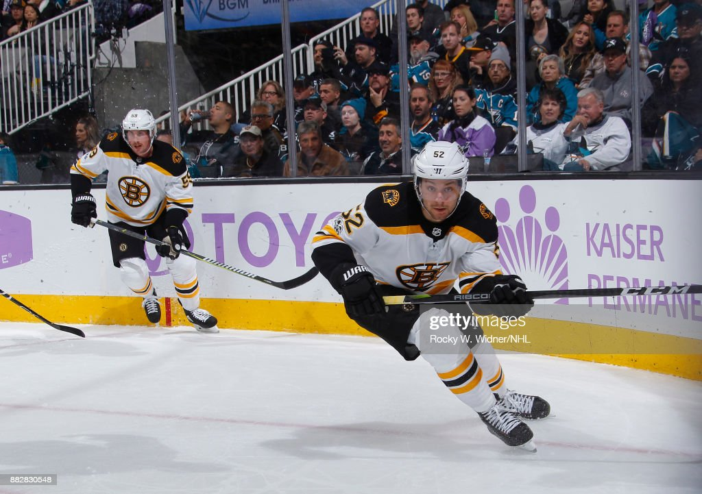 Boston Bruins v San Jose Sharks
