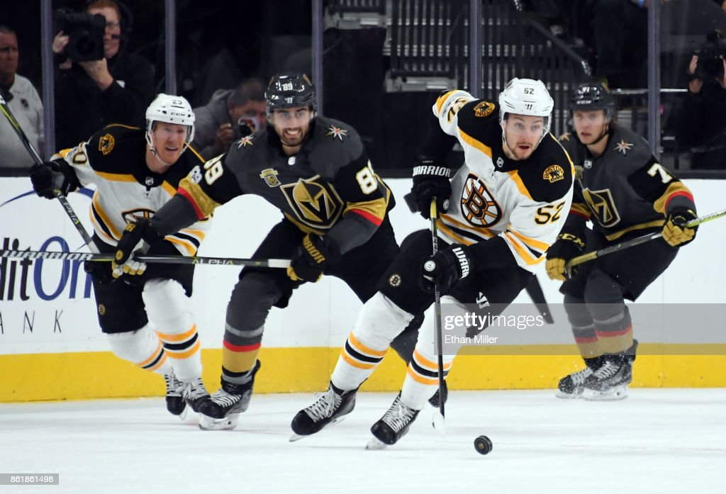 Boston Bruins v Vegas Golden Knights : News Photo
