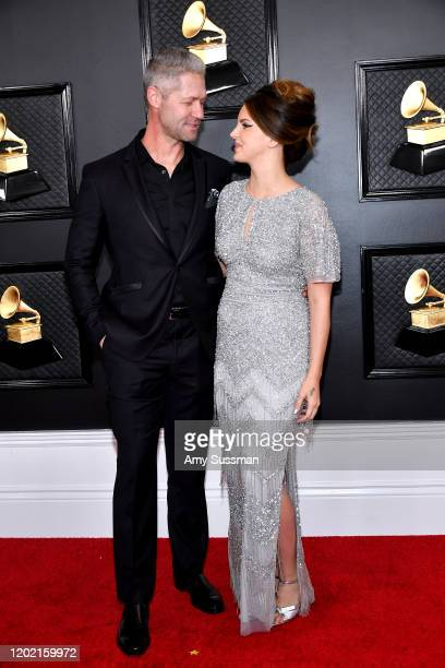 Sean Larkin and Lana Del Rey attend the 62nd Annual GRAMMY Awards at Staples Center on January 26, 2020 in Los Angeles, California.