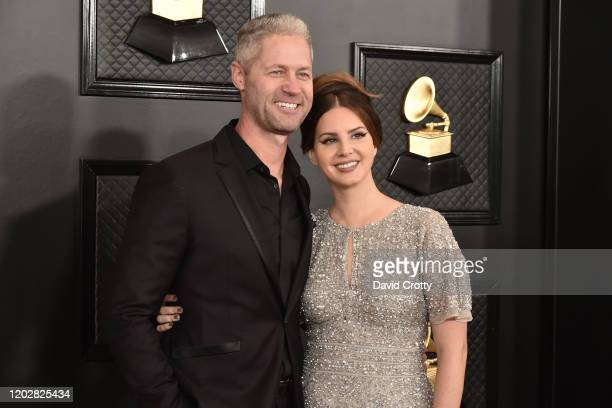 Sean Larkin and Lana Del Rey attend the 62nd Annual Grammy Awards at Staples Center on January 26, 2020 in Los Angeles, CA.
